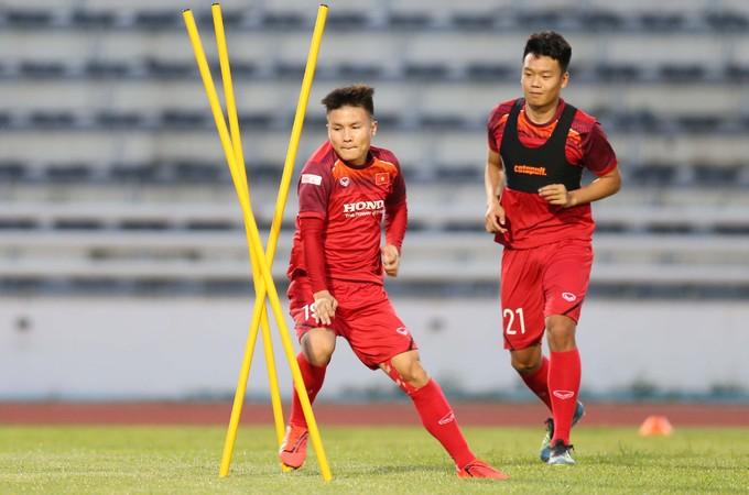 Vietnam begin King's Cup training - 6