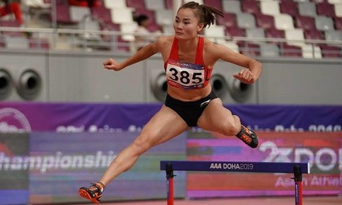 Vietnamese star Lan wins women's 400 m at Asian Grand Prix Series