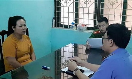 Woman arrested in northern Vietnam with drugs carried from Laos border