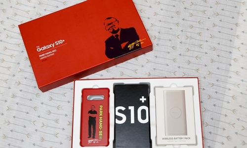 Samsung to release Park Hang-seo limited edition S10 phone only in Vietnam