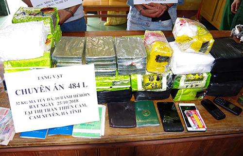 Vietnamese men sentenced to death for drug trafficking