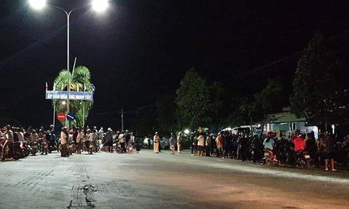 Two killed, 2 injured in shooting at Long An border guard station