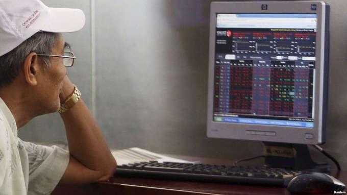 Vietnam stock market slides to two-week low