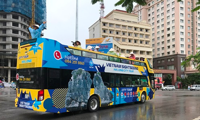 Ha Long to launch open-top tour buses