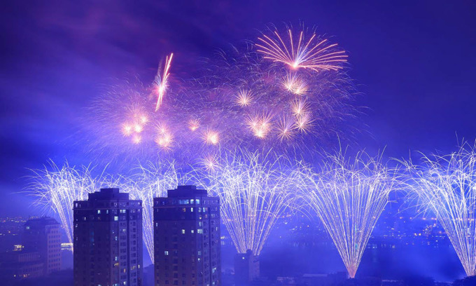 UK, Finland teams in championship tussle at Da Nang firework fest
