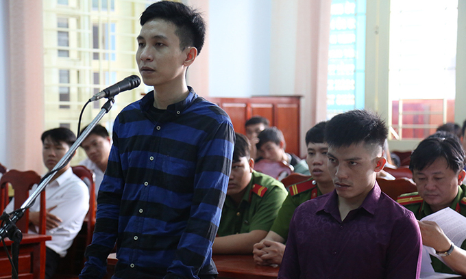 Two men get stiff jail terms for robbing Vietnam toll station