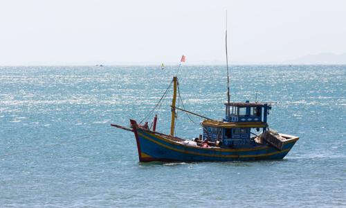 Singaporean ship sinks Vietnamese fishing vessel
