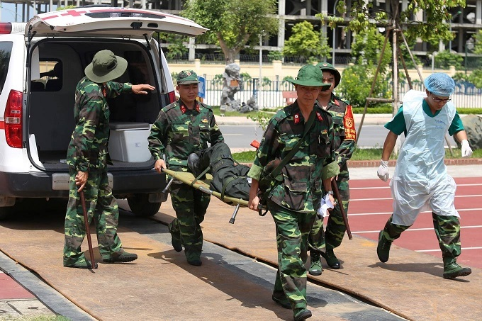 Vietnam military doctors train for UN peacekeeping mission in South Sudan