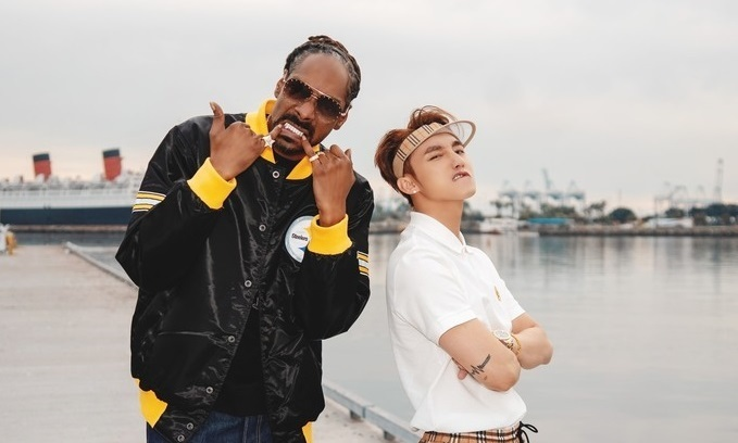 Vietnamese pop star, Snoop Dogg storm YouTube with new music video