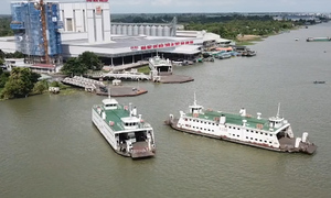 Vam Cong ferry closes after 100 years of service