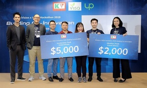 Two startups win KVision innovation awards