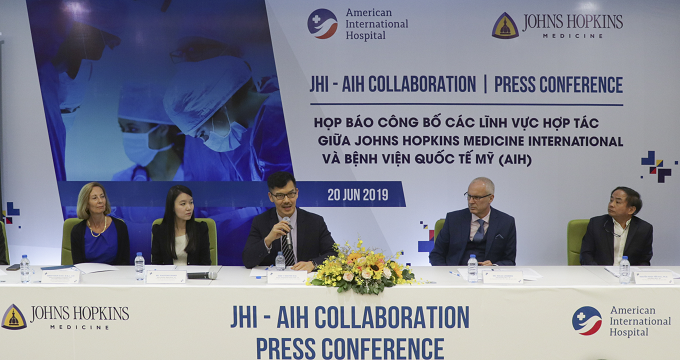 The American International Hospital is the second medical unit in Southeast Asia that Johns Hopkins Medicine International collaborates with and supports.