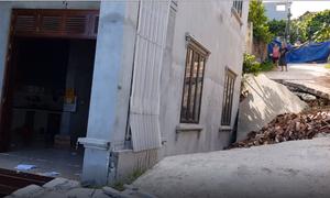Hanoi house collapses, underground limestone system suspected