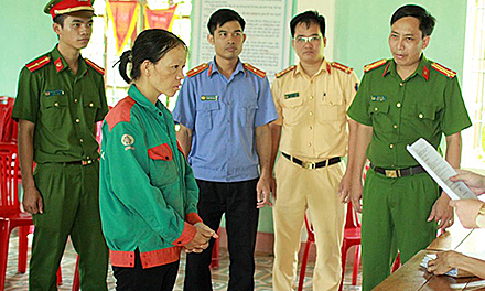 Woman arrested for unintentionally starting wildfire in central Vietnam