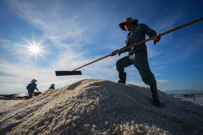 Go explore long-standing salt fields in central Vietnam - 1