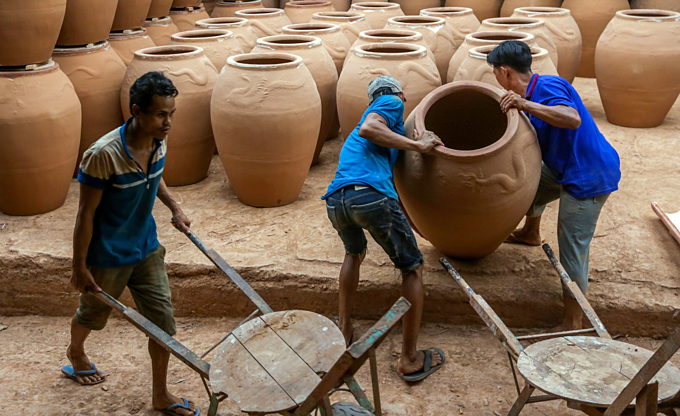 Southern Vietnam pottery village, 150 years and going strong - 5
