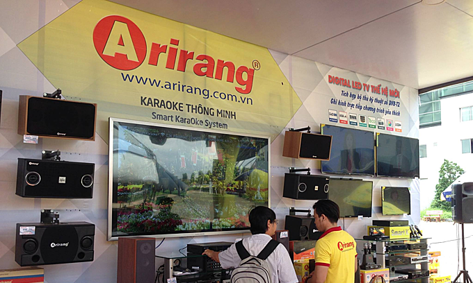 Once-popular karaoke brand Arirang shut down