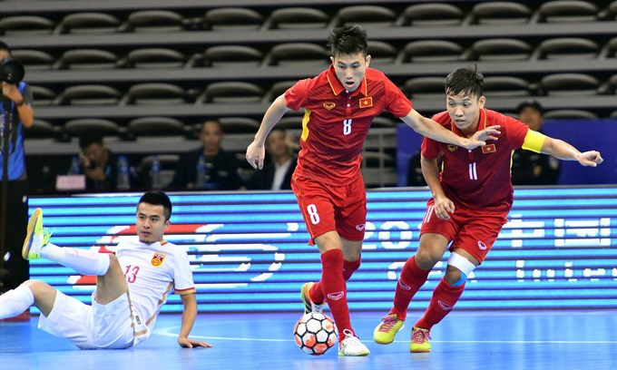 Vietnam futsal team grouped with strong opponents in regional tourney