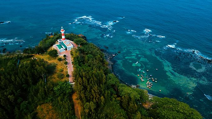 Aerial view of lush green Quang Ngai - 2