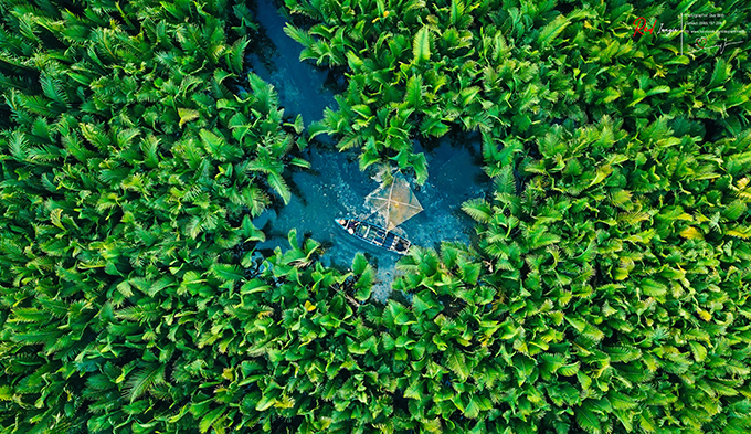 Aerial view of lush green Quang Ngai - 4
