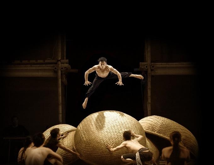Các vở diễn của xiếc tre Việt Nam kể chuyện bằng ngôn ngữ cơ thể.