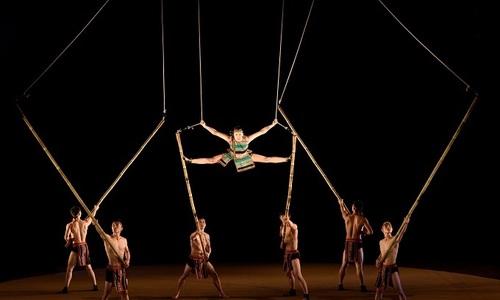 Bamboo circus brings Vietnamese culture to life
