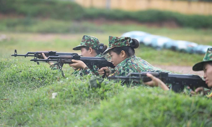 Vietnamese soldiers train for Army Games 2019