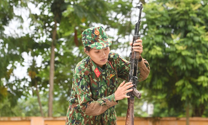Vietnamese soldiers train for Army Games 2019 - 9