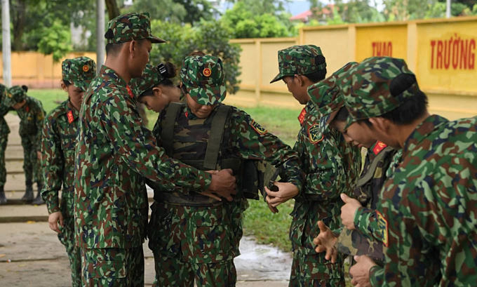 Vietnamese soldiers train for Army Games 2019 - 1