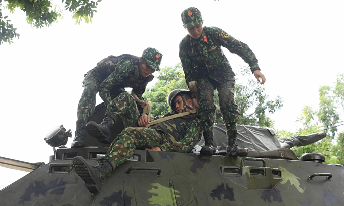 Vietnamese soldiers train for Army Games 2019 - 5