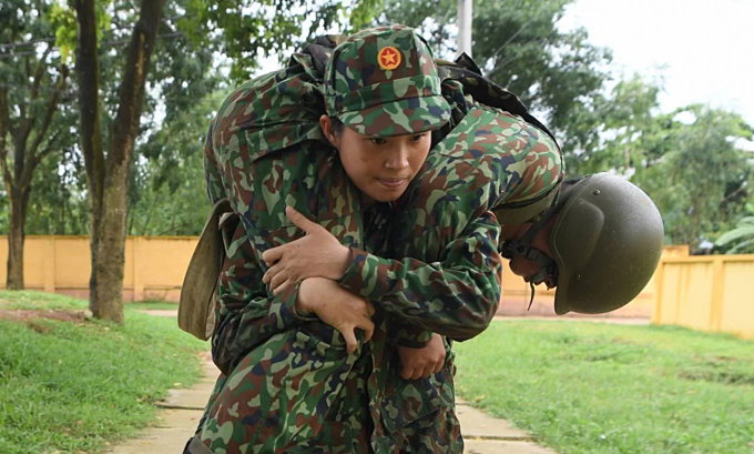Vietnamese soldiers train for Army Games 2019 - 6