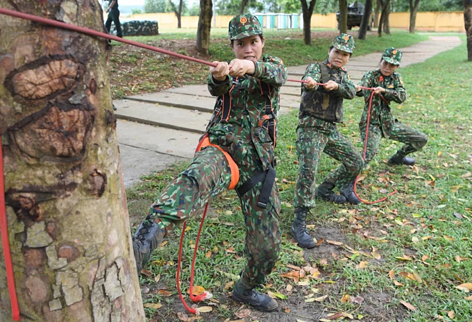 Vietnamese soldiers train for Army Games 2019 - 7