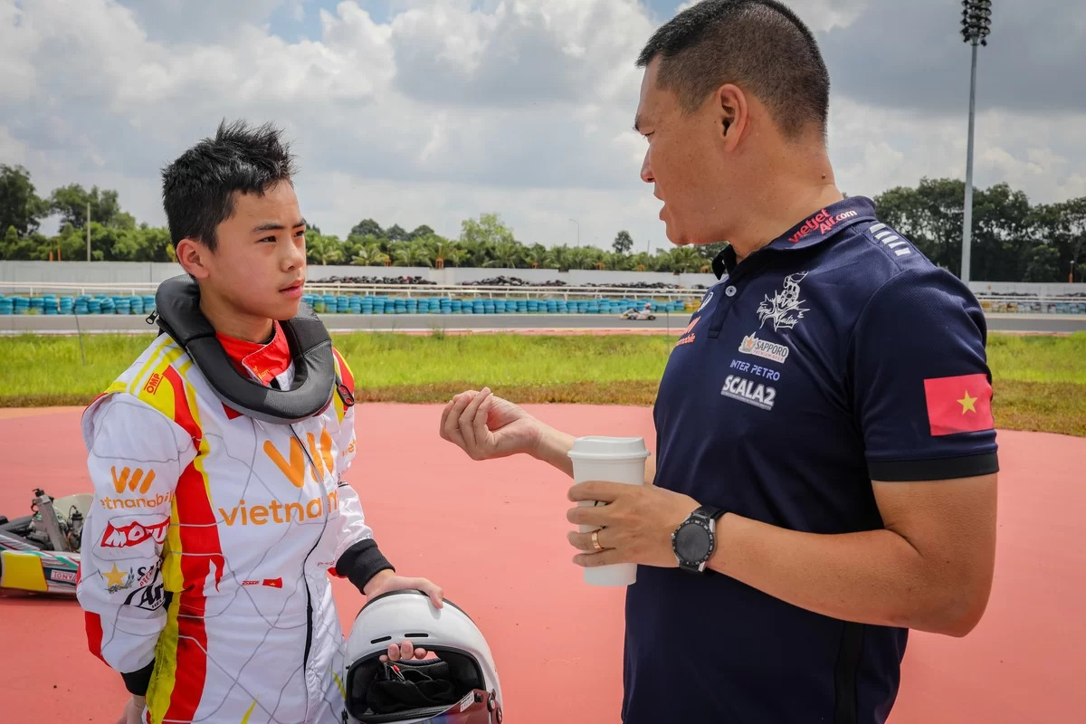 Binh Duong on track to become Vietnam go-kart hub