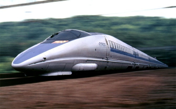Japans Nozomi bullet train. Photo by Reuters/File.