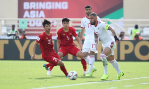 Vietnam slip one place in world football ranking