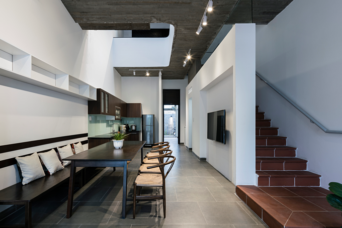 The house is designed for an extended family of three generations. Photo by VnExpress/Quang Tran.