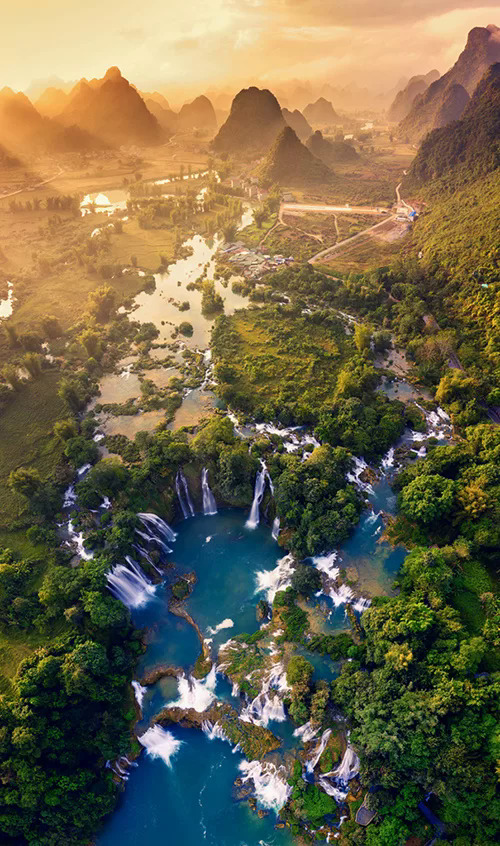 Top 10 pictures from Vietnam from above 2019 take your breath away