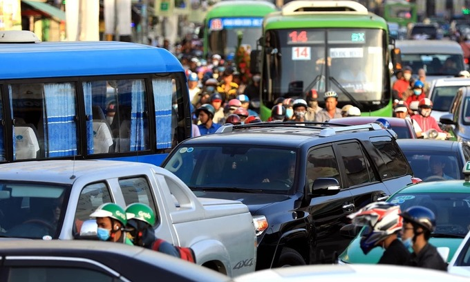 Downtown toll can reduce traffic congestion losses: HCMC officials