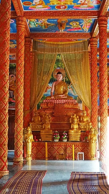 An Giang's 140-year-old Khmer pagoda - 2