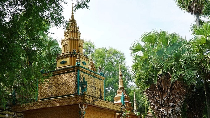 An Giang's 140-year-old Khmer pagoda - 5
