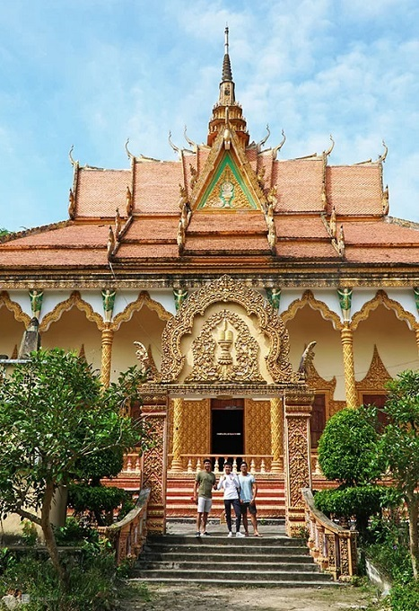 An Giang's 140-year-old Khmer pagoda - 6