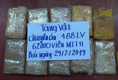 Three Lao men caught transporting drugs worth $430,000