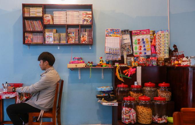 Quán cà phê gợi nhớ ký ức tuổi thơ ở Sài Gòn