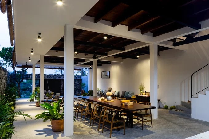 Quang Nam house opens up to nature - 3