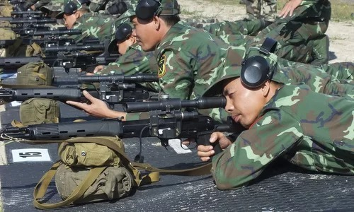 Vietnamese snipers in second round at International Army Games