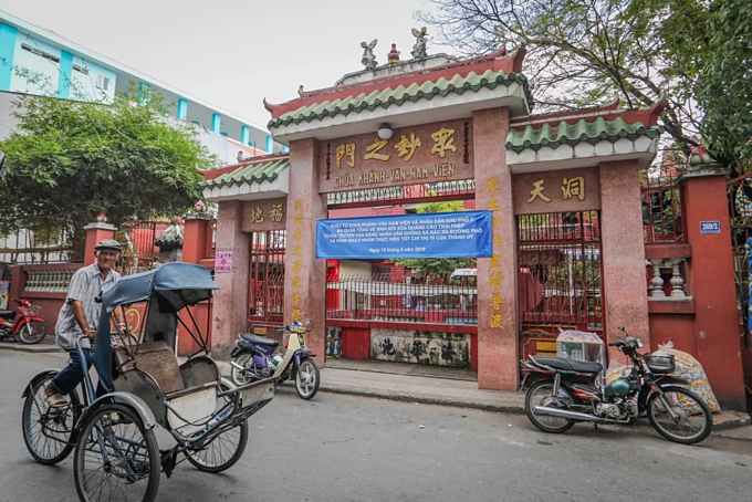 A Saigon temple hosts three religions in Taoist harmony