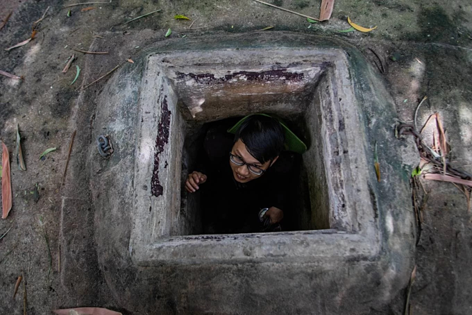 Inside Saigons secret tunnel that was once destroyed by the French (unedited) - 1