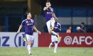 Hanoi beat Altyn Asyr in first leg of AFC Cup interzone semis