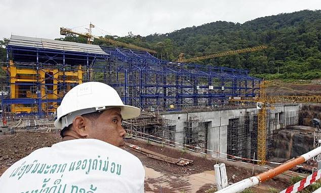 Dam-building race threatens Mekong River