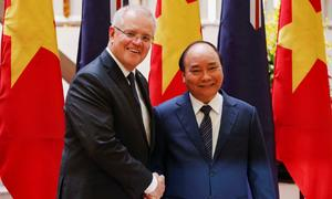Australia shares Vietnam's concerns over East Sea tensions